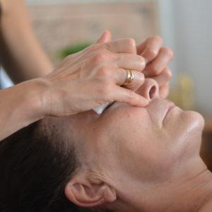 Pression Des Points D'acupuncture