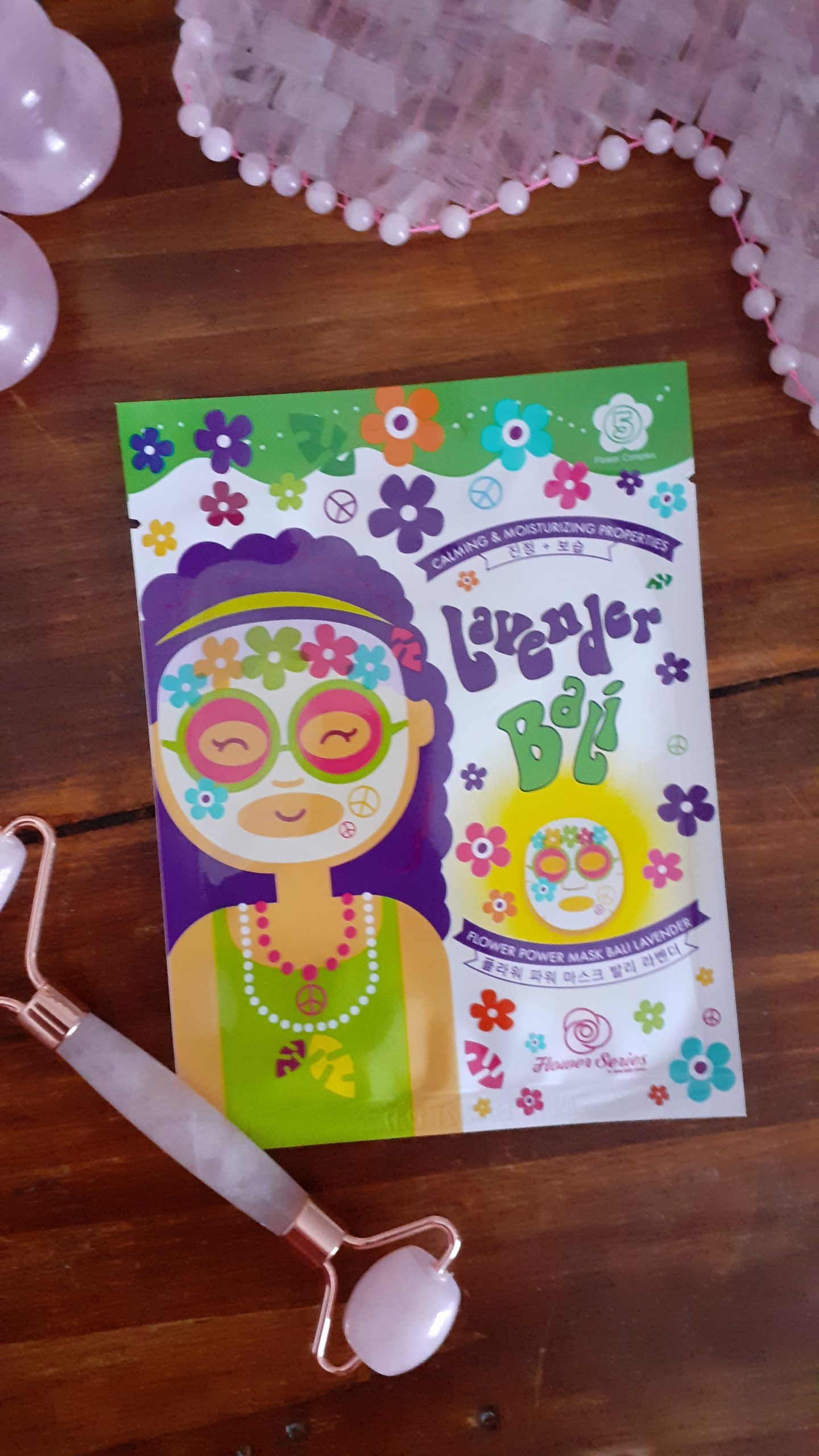Flower Mask Lavender Bali – Calming And Moisturizing / Peaux Sensibles